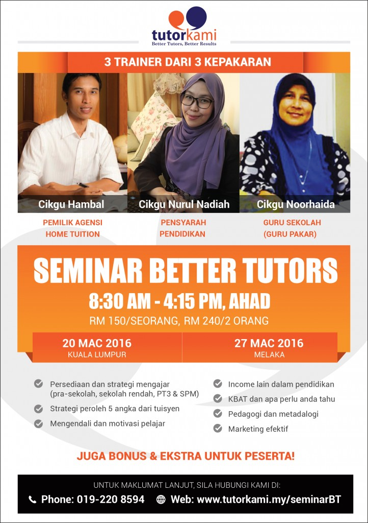 Seminar Better Tutors